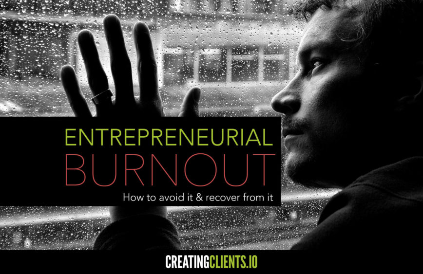 Entrepreneurial Burnout